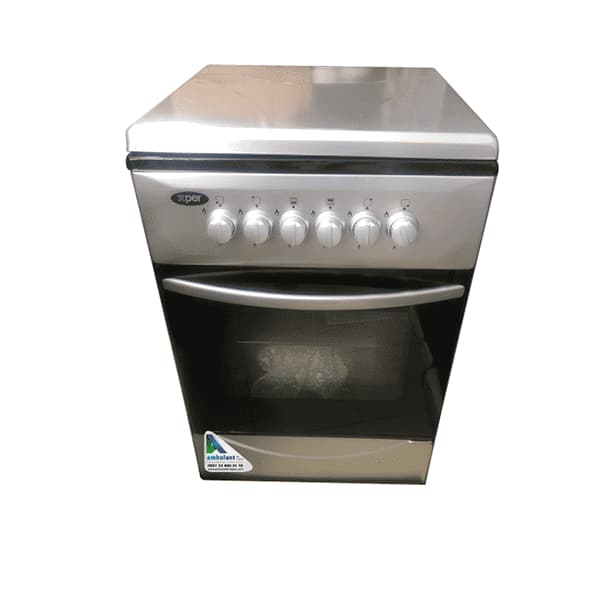 Best Stove Cheap Stove In Kinshasa XPER CUISINIERE 4PL 60X60 7040S SILVER